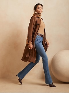 High-Rise Flare Soft Sculpt Jean