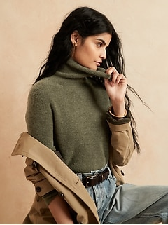 NEW! Aire Turtleneck Sweater