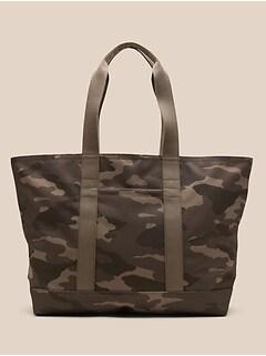 Print Large Tote Bag