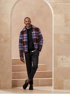 Tapered Italian Wool Pant