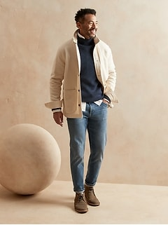 Tapered WATERSHED Mill Valley Stretch Denim Jean