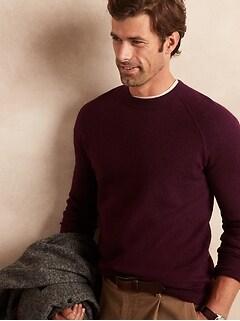 Raglan Sweater in Responsible Wool