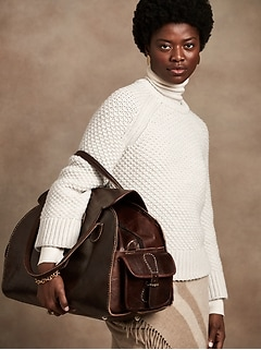 Merino Honeycomb Stitch Sweater