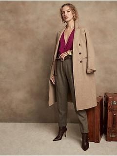 Merino Long Cardigan Sweater in Responsible Wool