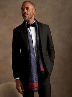 Slim-Fit Tuxedo Dress Shirt